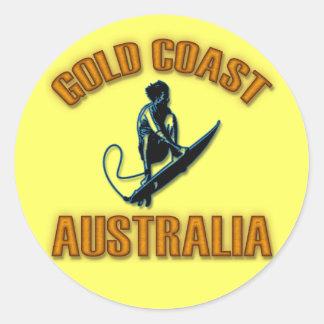 ゴールド・コーストオーストラリア ラウンドシール