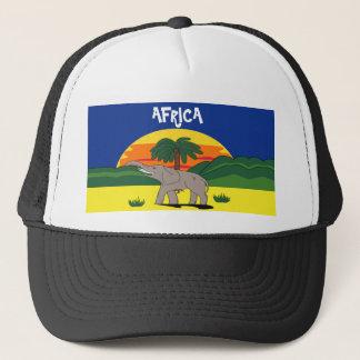 ゴールド・コースト象およびヤシの木の帽子 キャップ