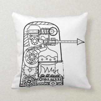 ゴーレムの正方形の枕の戦い クッション