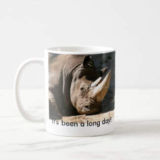 サイそれはずっと長い日です! 左利き コーヒーマグカップ