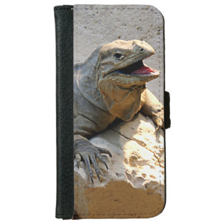 サイのイグアナ iPhone 6/6S ウォレットケース