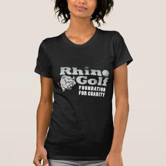 サイのゴルフ-暗闇 Tシャツ