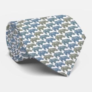 サイのタイのArmaniの灰色 オリジナルネクタイ