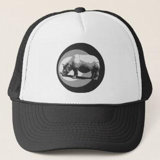 サイの記号のトラック運転手の帽子 キャップ