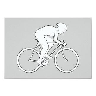 サイクリストのレーサー カード