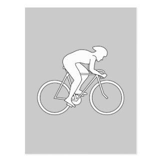 サイクリストのレーサー ポストカード