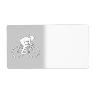 サイクリストのレーサー ラベル