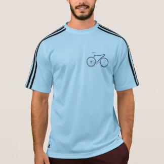 サイクリストを競争させる粋でカスタムなアディダスはTシャツを遊ばします Tシャツ
