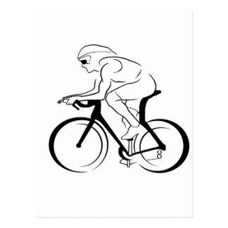サイクリスト ポストカード