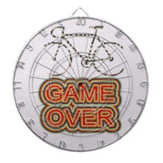 サイクリングのゲーム ダーツボード
