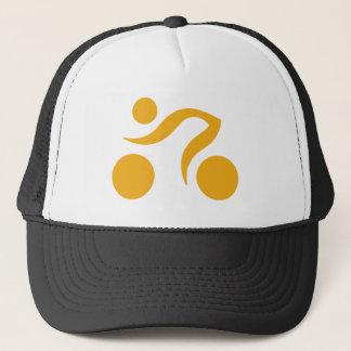 サイクリングのロゴ キャップ