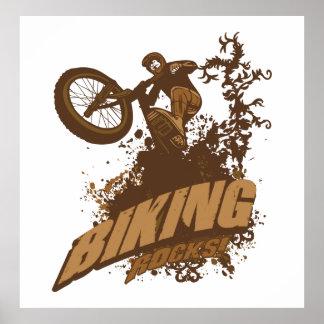 サイクリングの石! ポスター