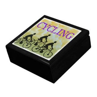 サイクリングの記念品箱 ギフトボックス