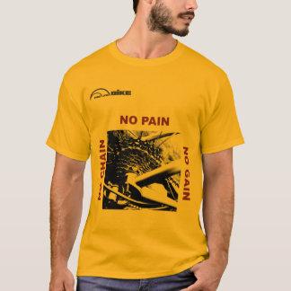 サイクリングのTシャツ-鎖無し-苦痛無し-利益無し Tシャツ