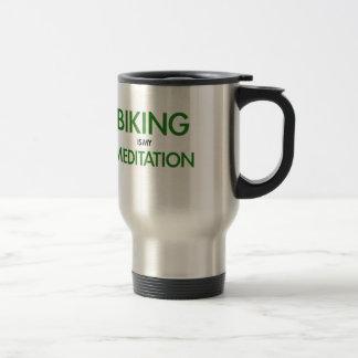 サイクリングは私の黙想です トラベルマグ