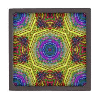 サイケデリックでトリップ(幻覚体験)のようなな抽象芸術 ギフトボックス