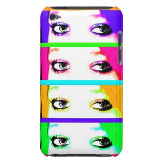 サイケデリックで明るい目 Case-Mate iPod TOUCH ケース