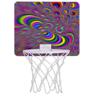 サイケデリックで素晴しいホログラムの要素の小型たが ミニバスケットボールゴール