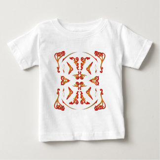 サイケデリックで装飾的なパターン: ベクトル芸術: ベビーTシャツ