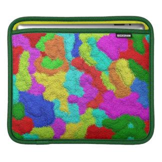 サイケデリックなグリッターパターンiPadの袖 iPadスリーブ