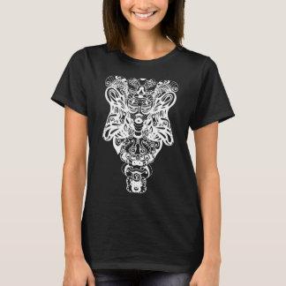 サイケデリックなトーテム Tシャツ