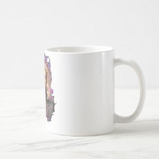 サイケデリックなニュートン コーヒーマグカップ