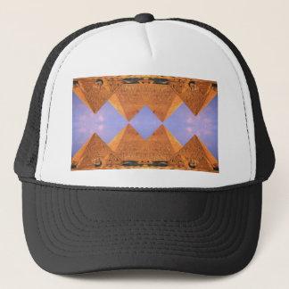 サイケデリックなピラミッド キャップ