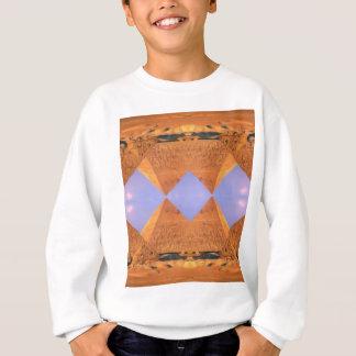 サイケデリックなピラミッド スウェットシャツ