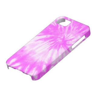 サイケデリックなピンクのファンクの絞り染めのiPhone 5の場合 iPhone SE/5/5s ケース
