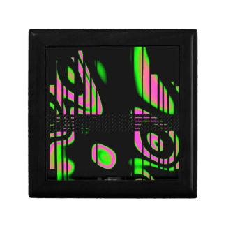 サイケデリックなピンクの抽象芸術 ギフトボックス