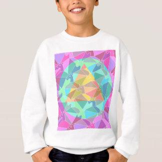 サイケデリックなユニコーン スウェットシャツ