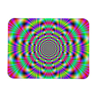 サイケデリックなリングの写真の磁石 マグネット