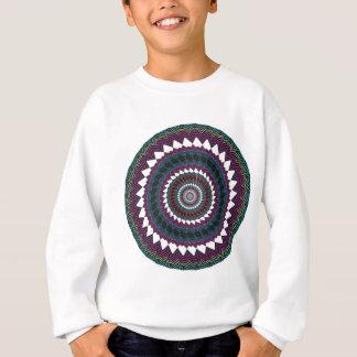 サイケデリックな放射状のアートワーク: スウェットシャツ