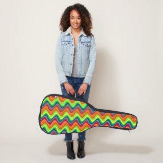サイケデリックな波 ギターケース