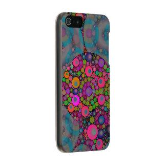 サイケデリックな浮遊泡 メタリックiPhone SE/5/5sケース