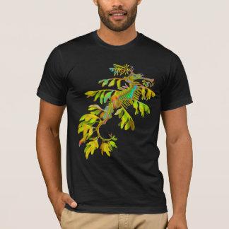 サイケデリックな海のドラゴンのタツノオトシゴのTシャツ Tシャツ