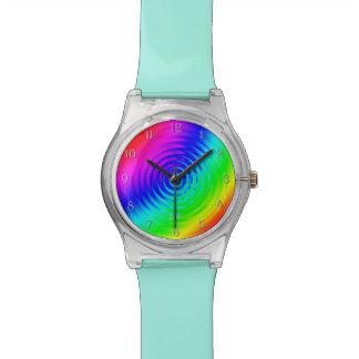 サイケデリックな液体の虹I 腕時計