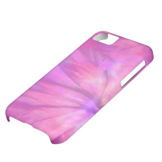 サイケデリックな紫色の花の絞り染めのiPhone 5の箱 iPhone5Cケース