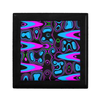 サイケデリックな細胞の紫色blue.jpg ギフトボックス