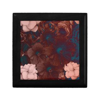 サイケデリックな花のコラージュ ギフトボックス