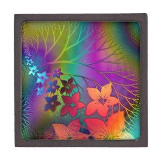 サイケデリックな花の宝石箱 ギフトボックス