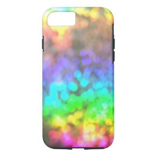 サイケデリックな虹はiPhone 7の場合をつけます iPhone 8/7ケース