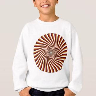 サイケデリックな螺線形パターン: ベクトル芸術: スウェットシャツ