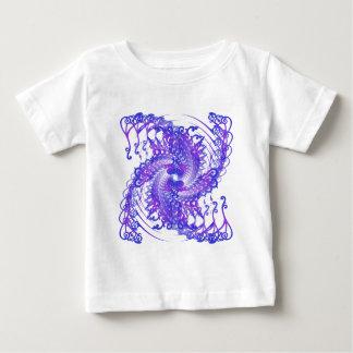 サイケデリックな螺線形パターン: ベクトル芸術: ベビーTシャツ