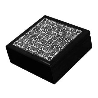 サイケデリックなGeometrica 01のラッカーを塗られたギフト用の箱 ギフトボックス