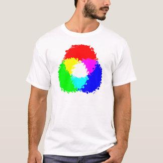サイケデリックなRGB色モデル Tシャツ
