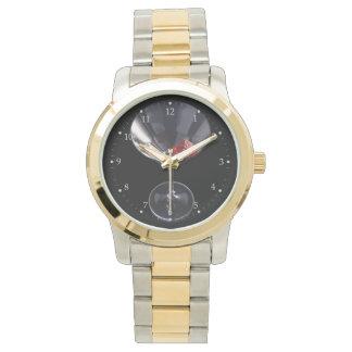 サイコロのガラス腕時計 腕時計