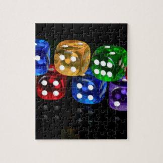 サイコロのゲーム ジグソーパズル