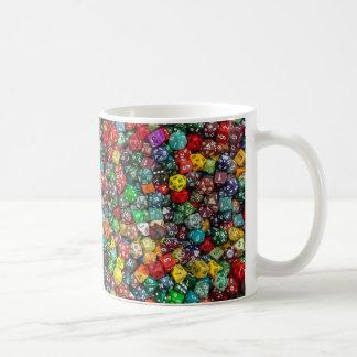 サイコロのコップ! コーヒーマグカップ
