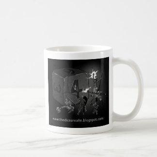 サイコロはうそです コーヒーマグカップ